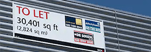 Commercial 'To Let' Boards